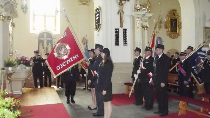 Powiatowy Dzień Strażaka w Ostrorogu